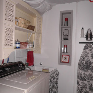 Elegant laundry room photo in Other