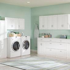 Contemporary Laundry Room by ClosetMaid