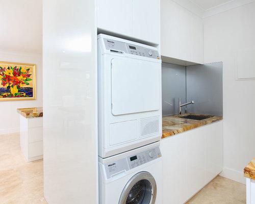 Fotos de lavaderos dise os de lavaderos con encimera de nix for Diseno lavadero