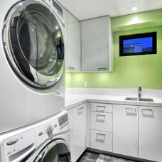 Contemporary Laundry Room by JDL Construction