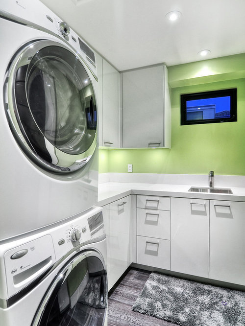 Stacked Washer And Dryer Houzz