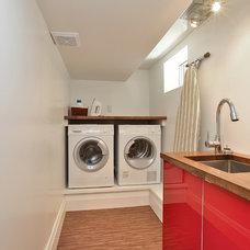 Contemporary Laundry Room by Gillian Gillies Interiors (GGI)