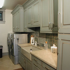 Traditional Laundry Room by TAB ASSOCIATES INC