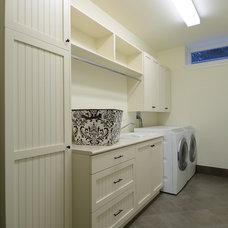 Contemporary Laundry Room by Armadio Kitchen & Bath Ltd.