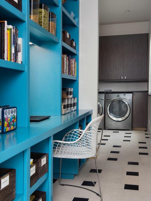 Utility room flooring