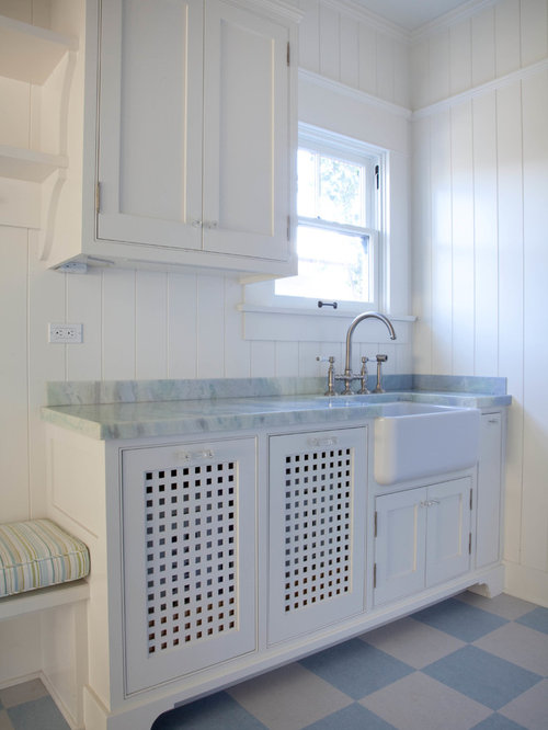 saveemail beach style laundry room