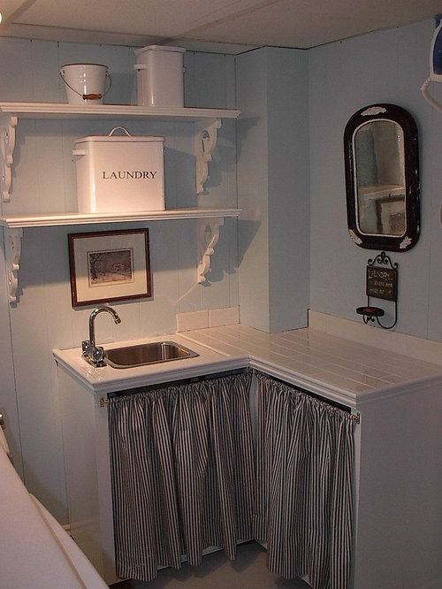 Small Laundry Sink Home Design Ideas, Pictures, Remodel and Decor