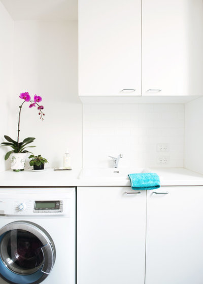 Contemporary Laundry Room Cottage Place
