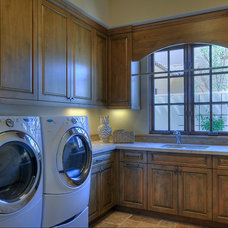 Traditional Laundry Room by Cullum Homes and  Renovations