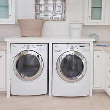 Beach Style Laundry Room by Bliss Home & Design