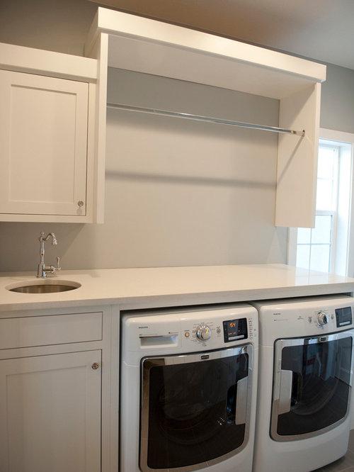 30 arts and crafts folding shelves laundry room design. Black Bedroom Furniture Sets. Home Design Ideas