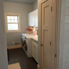Craftsman Laundry Room by Dickinson Homes