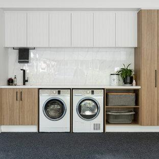Idéer för att renovera en funkis tvättstuga