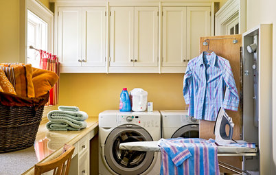 Iron It Out! Storage Solutions for the Ironing Board