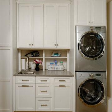 Crisp Laundry Room