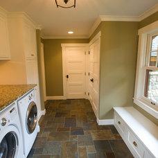 Craftsman Laundry Room by RemWhirl Architecture & Landscape Design