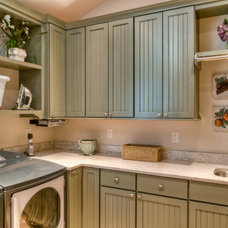 Traditional Laundry Room by Riley Custom Homes & Renovations