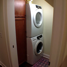 Traditional Laundry Room by The Southern Basement Company