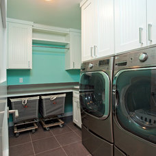 Laundry Room by Homes by Tradition