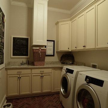Custom Built Laundry Chute