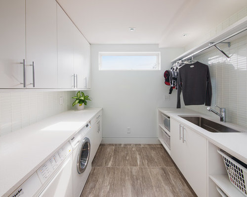 Laundry Room Hang Bar Houzz