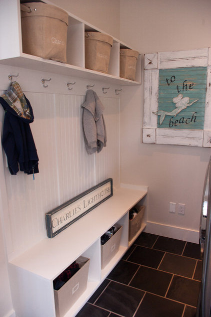 Contemporary Laundry Room by Barstow Construction