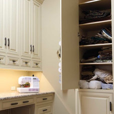 Traditional Laundry Room by Maple Ridge Cabinetry