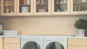 Custom Laundry Rooms