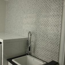 Modern Laundry Room by Dan Lavigne