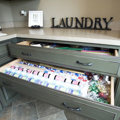 traditional laundry room by John Hall Homes
