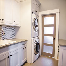 Transitional Laundry Room by Madison Taylor