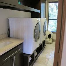 Modern Laundry Room by Dan Tyree