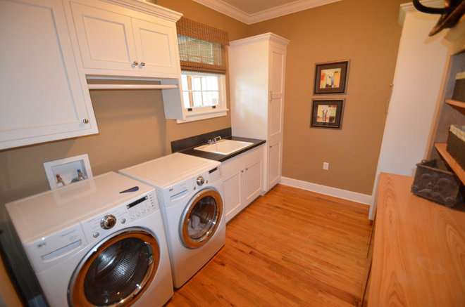 Traditional Laundry Room by DAKMAK Construction