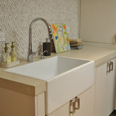 Contemporary Laundry Room by The F.I.R.M