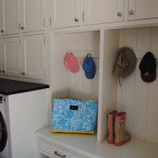 Traditional Laundry Room by House Dressing Interiors, LLC