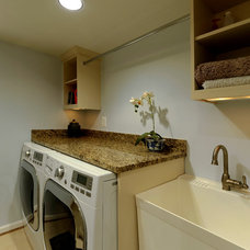 traditional laundry room by Daniels Design & Remodeling