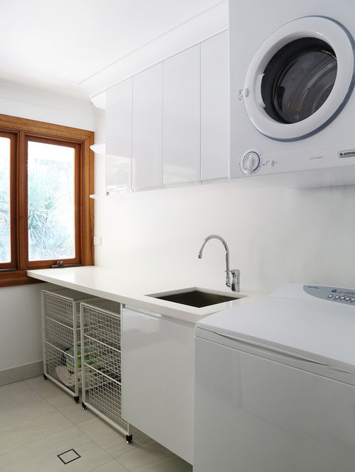 Laundry Room Undermount Sinks : Porcelain Laundry Sink Home Design Ideas, Pictures, Remodel and Decor