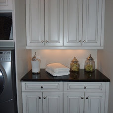 Traditional Laundry Room by Debbie Etheridge Interior Design
