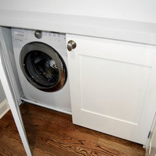 Craftsman Laundry Room by Falcon Design Build