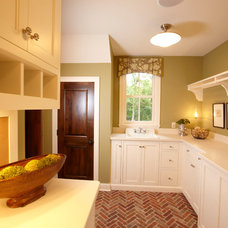 Traditional Laundry Room by Alexander Design Group, Inc.