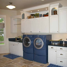 Traditional Laundry Room by Thelen Total Construction