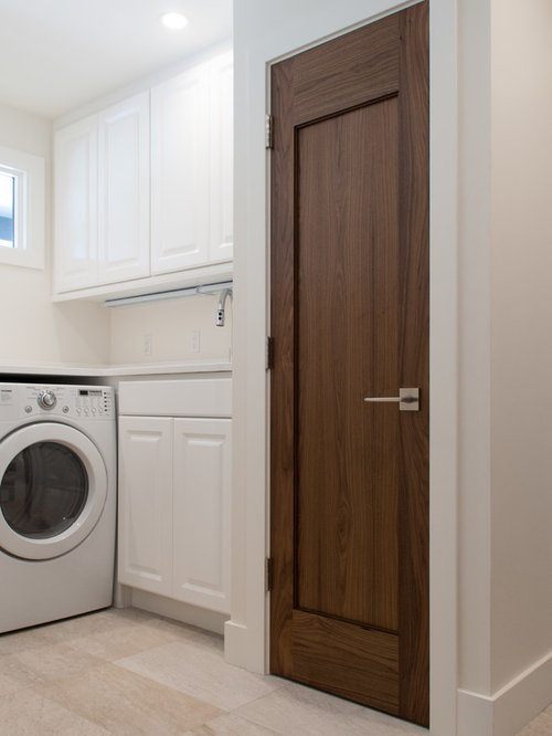Ushaped Laundry Cupboard Design Ideas Renovations Photos