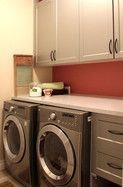 Traditional Laundry Room by Capstone Dwellings, Design-Build