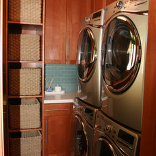 Contemporary Laundry Room by Design Dacoy