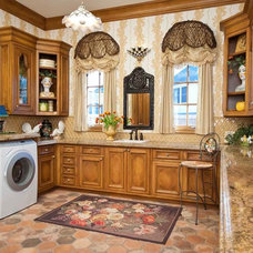 Traditional Laundry Room by Dallas Design Group, Interiors