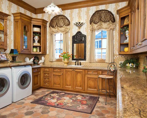 Laundry Room Window Treatments Home Design Ideas Pictures