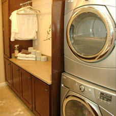 Traditional Laundry Room by Designs by SKill, LLC.