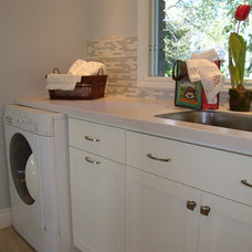 Contemporary Laundry Room by DIANE GRANANDER DESIGN