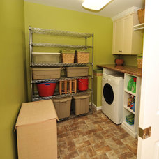 Traditional Laundry Room by CASE Design/Remodeling Birmingham