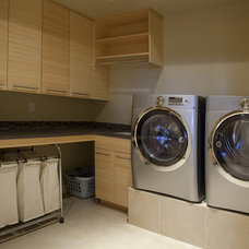 Modern Laundry Room by Gryboski Builders Inc.